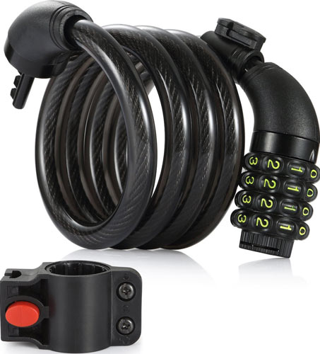 Amazer 4-Feet Bike Lock