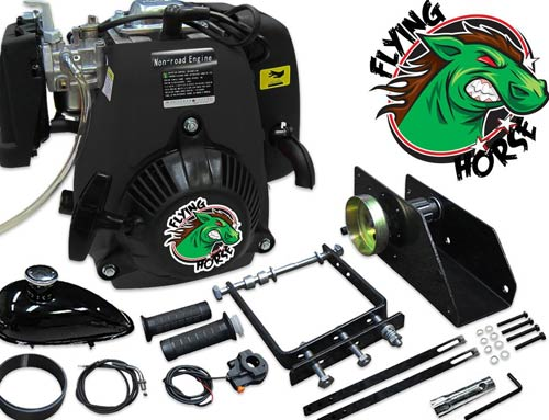 Flying Horse 49cc 5G Lock-N-Load Friction Drive Bicycle Engine Kit- 4-Stroke