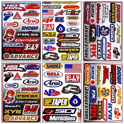 Graphic Racing Sticker Decal