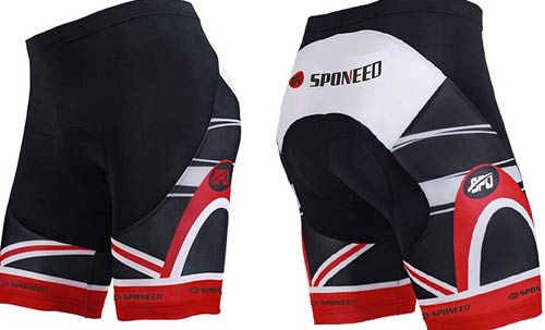 sponeed Men's Cycle Shorts Biking